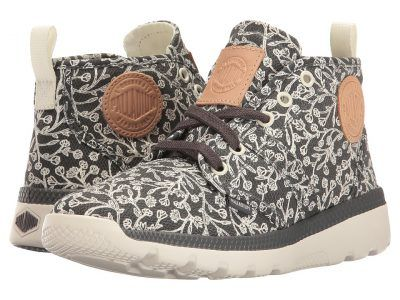 Palladium - Pallaville Hi (Pavement/Marshmallow/Tulip Print) Women's Lace up casual Shoes