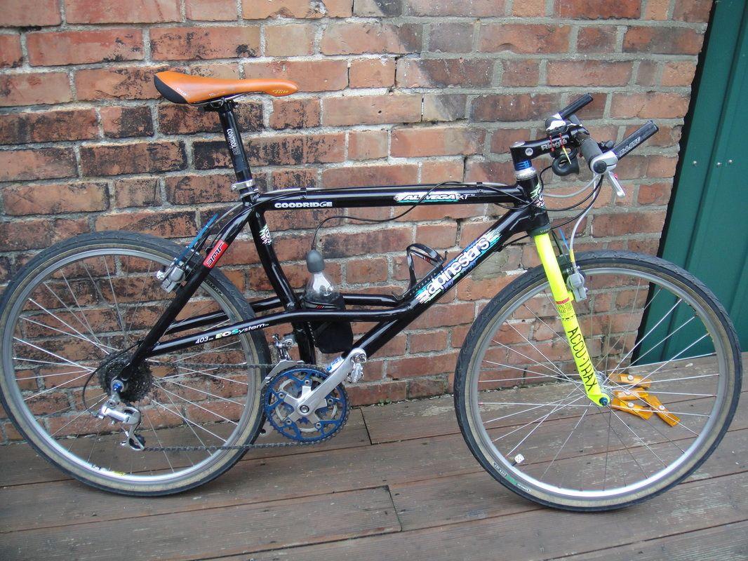 1992 Alpinestar Al Mega Xt With Neon Yellow Accu Trax Forks Xtr M900 Bullseye Wheelset And Magura Brakes Vintage Bikes Retro Bicycle Bicycle