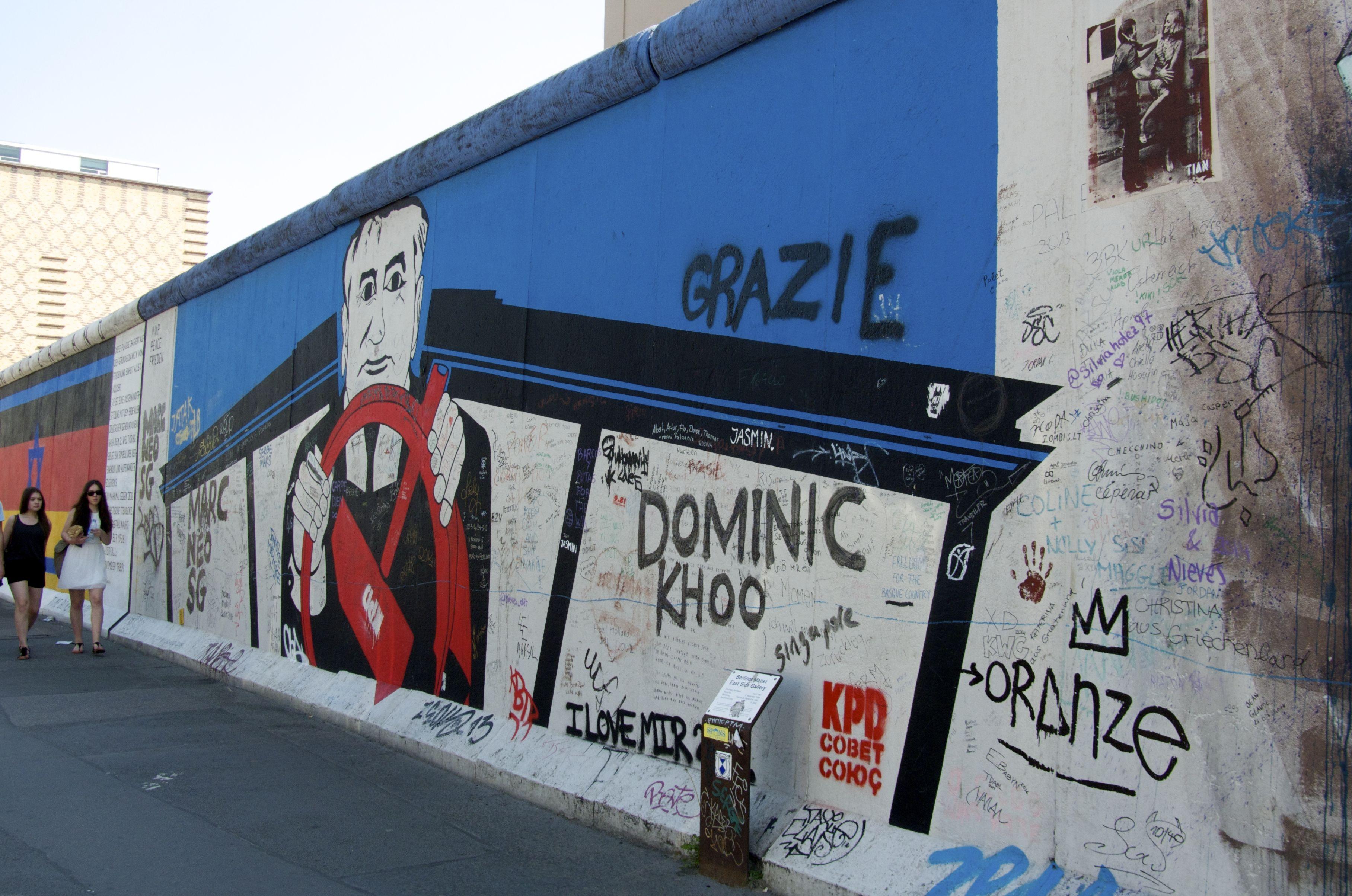 East Side Gallery Berlin Wall East Side Gallery Berlin Wall Berlin