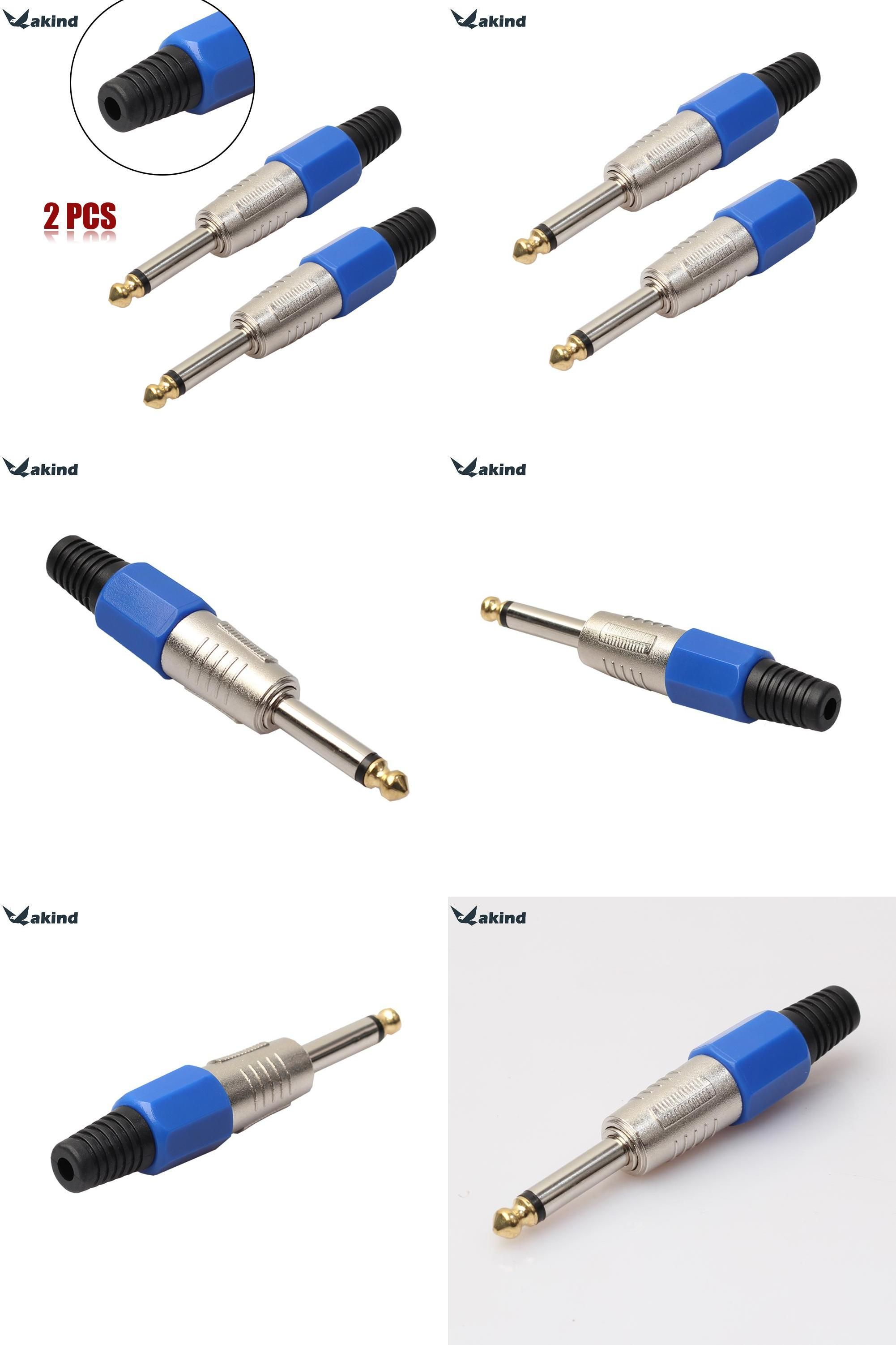 visit to buy 2pcs 6 35mm 6 5mm connector mono audio plug jack 6 5 amplifier microphone plug 6 35 mono sophomore core advertisement [ 2002 x 3003 Pixel ]