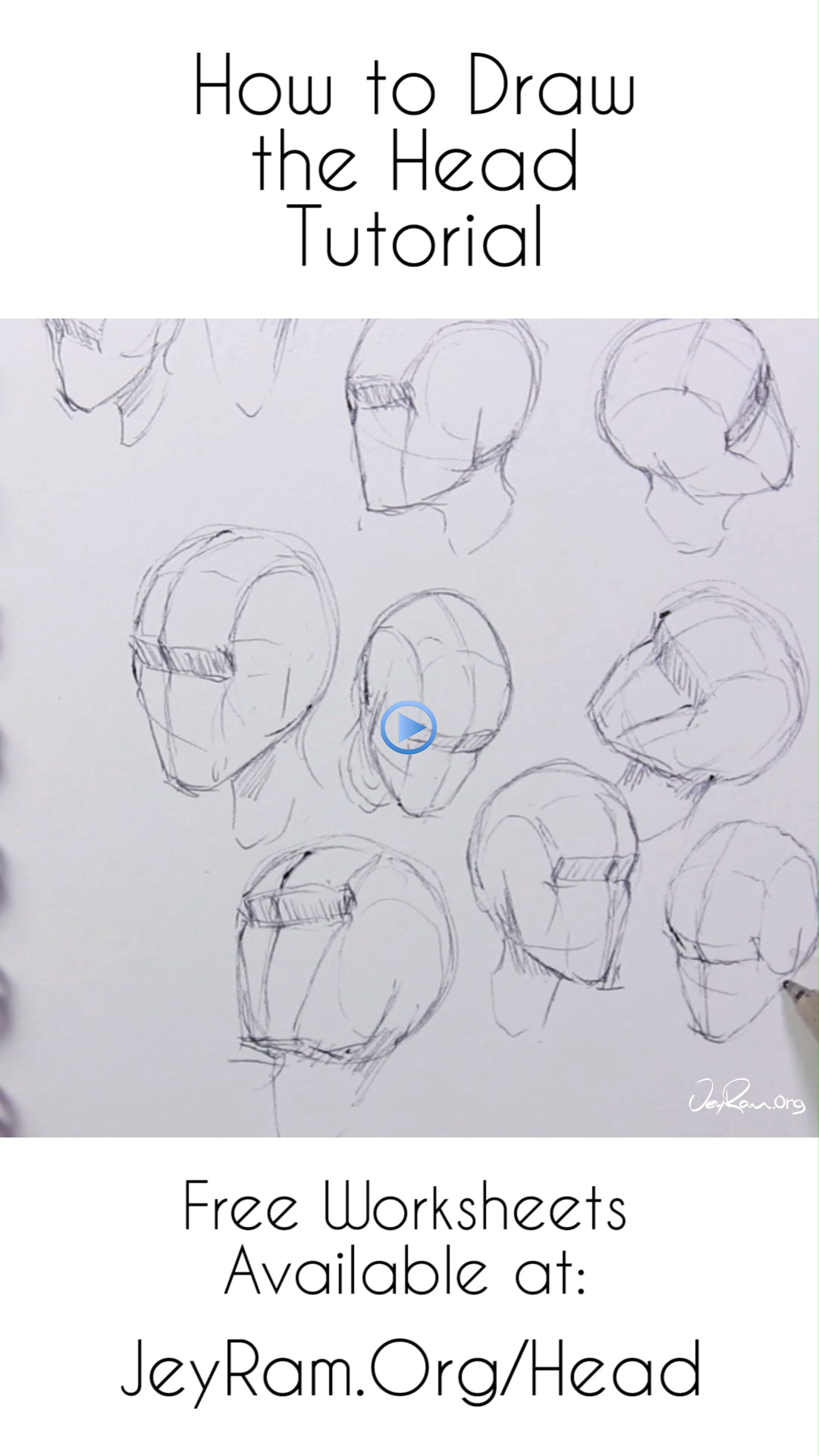 How To Draw The Head From Any Angle For Beginners Noses
