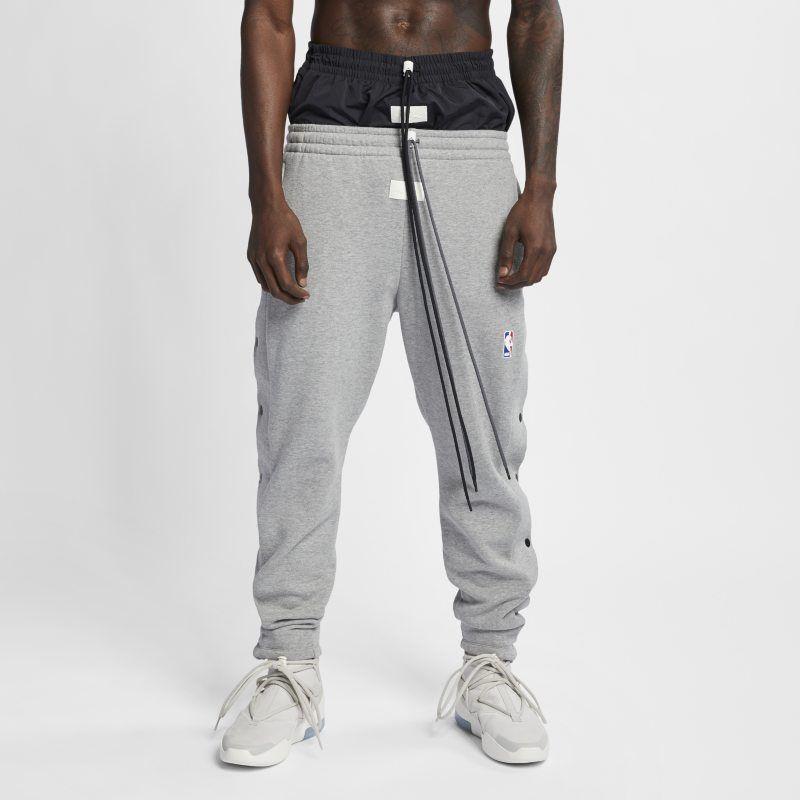 Nike x Fear of God Men's Trousers - Grey