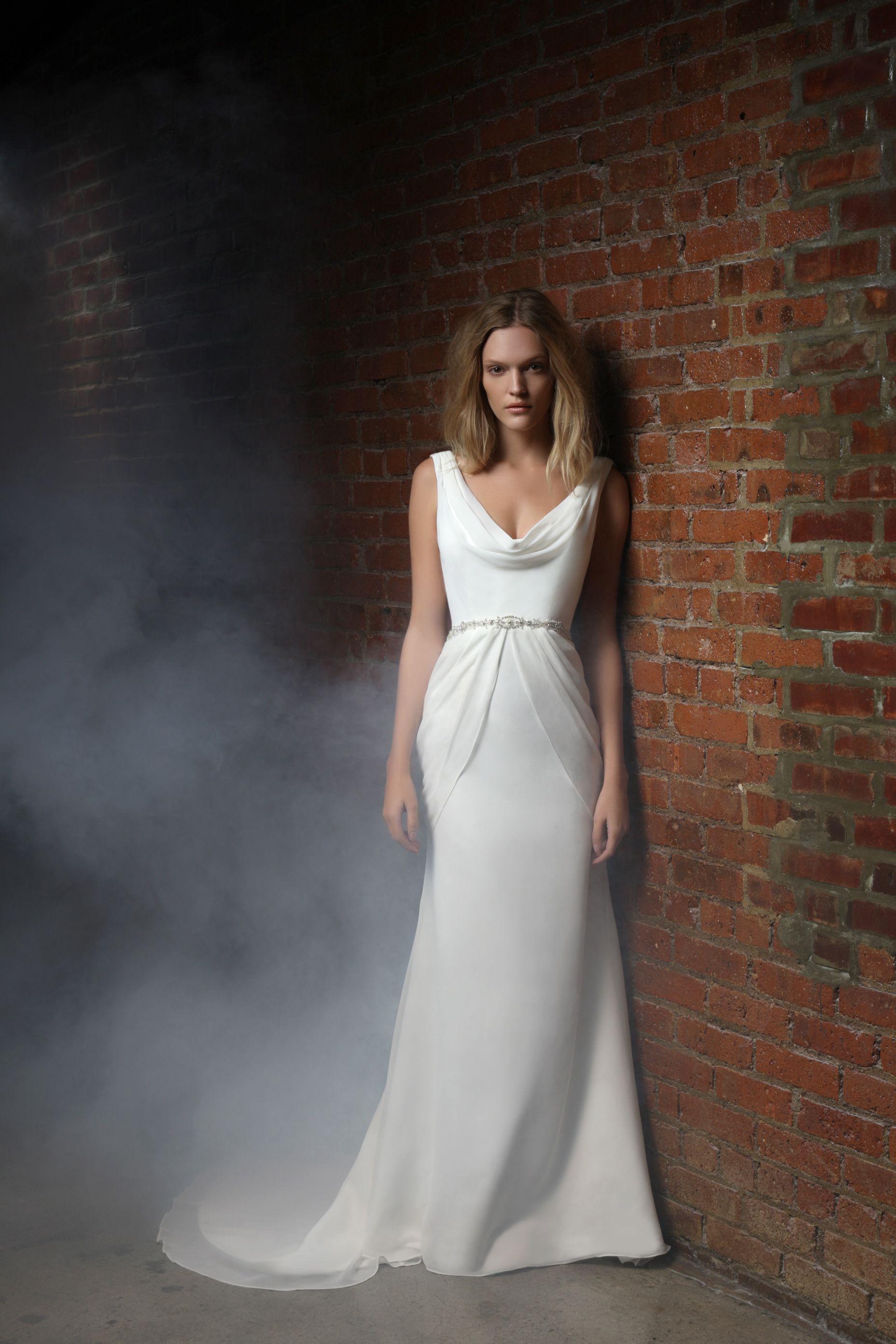 Silk sheath wedding dress  Ciara  Wedding Dresses Bridesmaid Dresses Bridal Gowns Wedding
