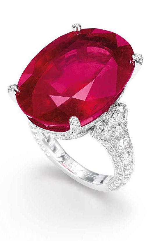 The Most Expensive Burmese Ruby Ring Ever Sold At An Auction In