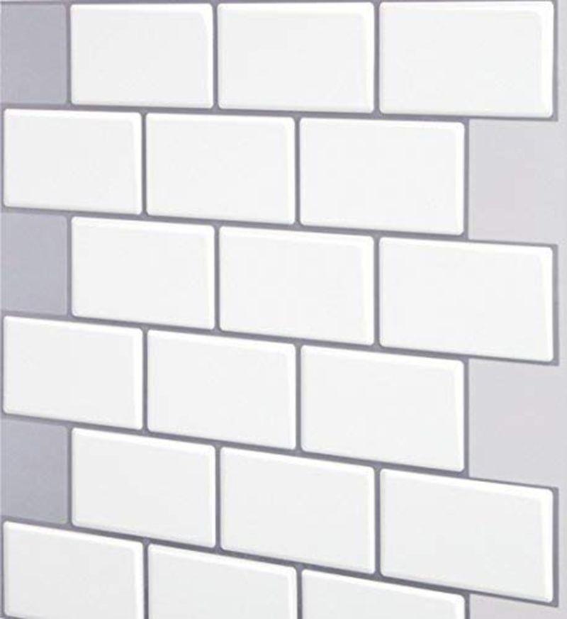 3d 3d 12 Waterproof Wallpaper For Bathroom Shower Sticker Waterproof Removable Pvc Decor De Self Adhesive Wall Tiles Peal And Stick Backsplash Stick On Tiles