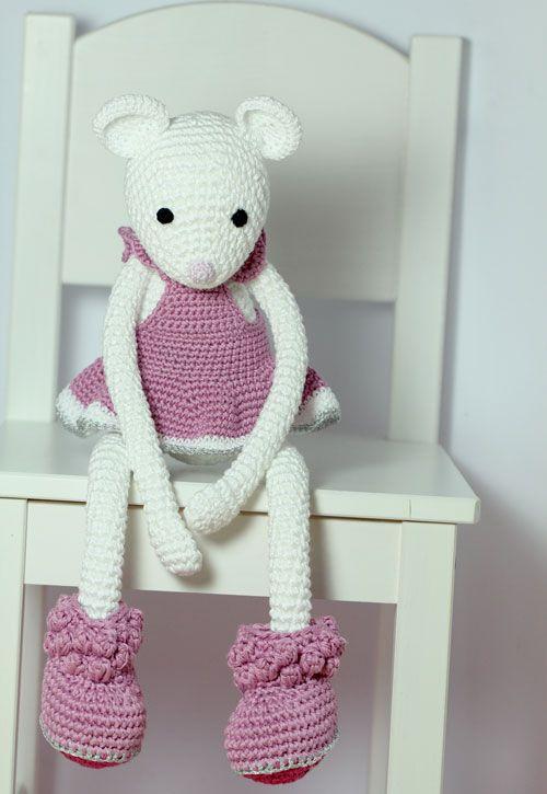 Alba White L - Pink Dress