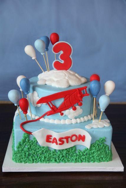 airplanes travel Birthday Party Ideas Aeroplanes Cake and Birthdays
