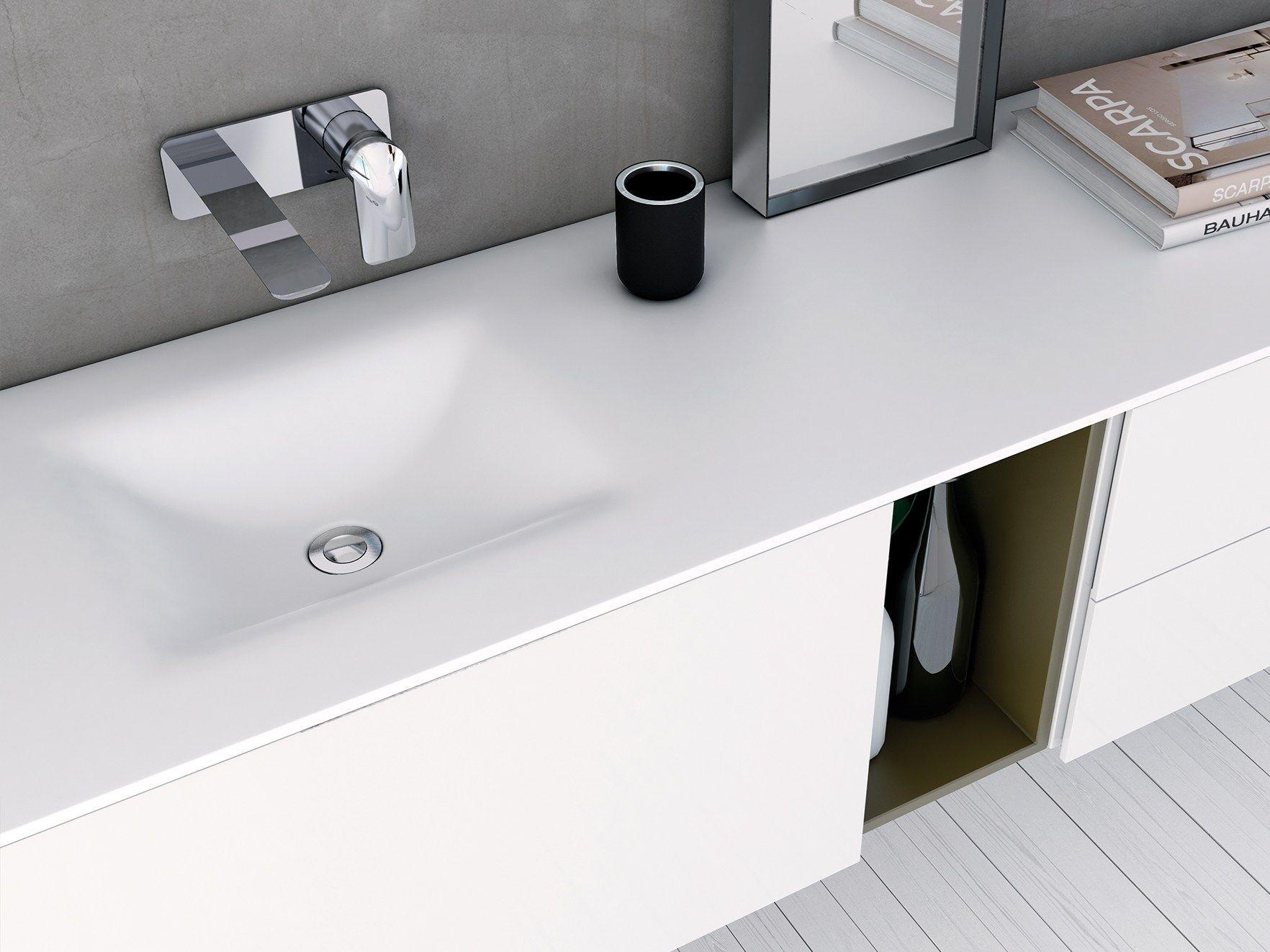d4 waschtisch aus corian® by inbani design inbani | bad, Badezimmer ideen