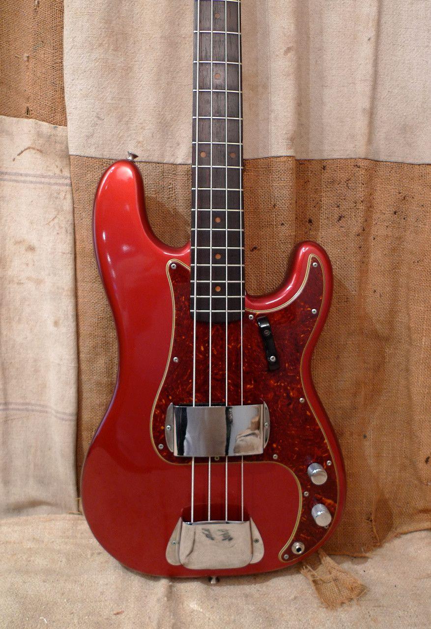 Fender Precision Bass Refinished 1957 1964 Reverb Fender Precision Bass Bass Fender Bass