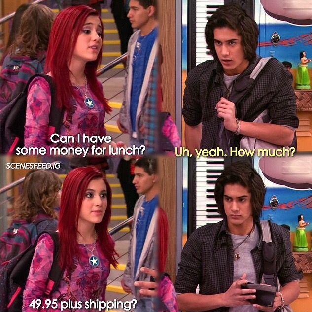 Victorious Icarly and victorious, Childhood tv shows