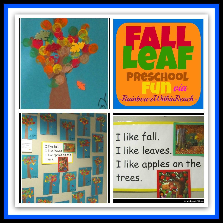 Fall Leaf Art Project In Preschool