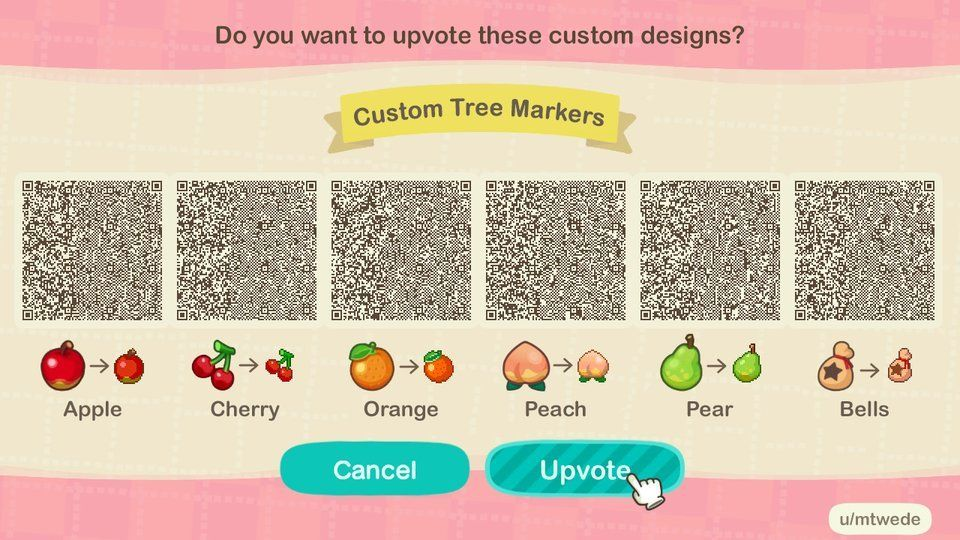 Animal Crossing New Horizons Design Codes on in 2020 Qr