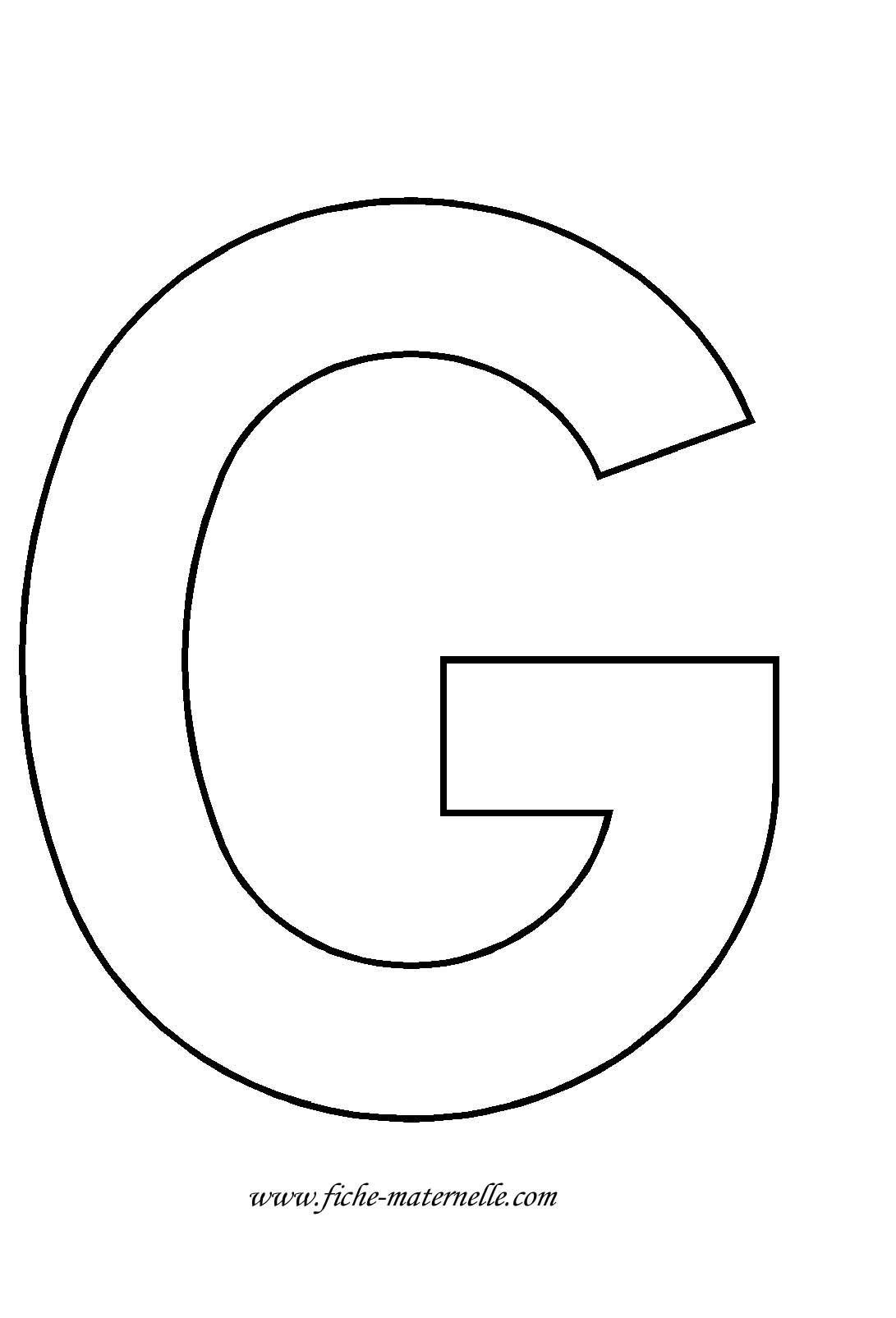 Lettre de l 39 alphabet d corer letras pinterest alphabet lettres et lettre capitale - Lettre de l alphabet en majuscule a imprimer ...