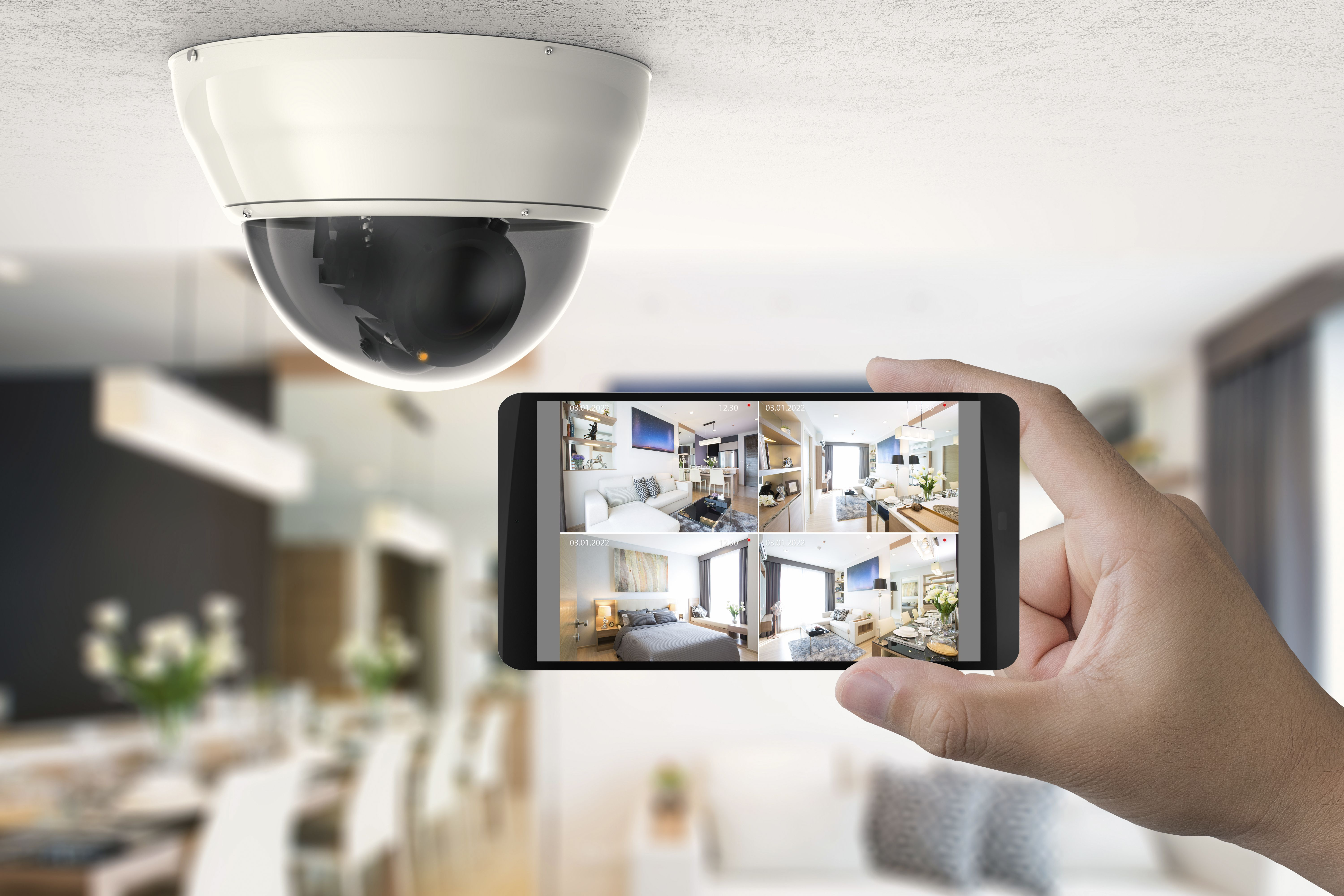 Who's knocking? Watch over your home or business in full HD cameras