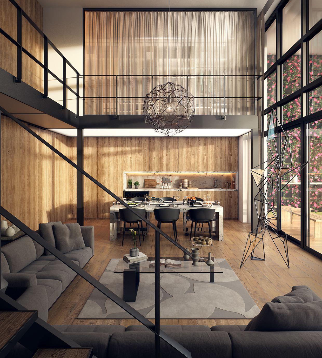 Le Loft Interior Pinterest Lofts Architects and Interiors