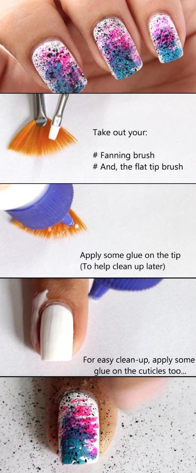 41 Super Easy Nail Art Ideas For Beginners Nails Pinterest