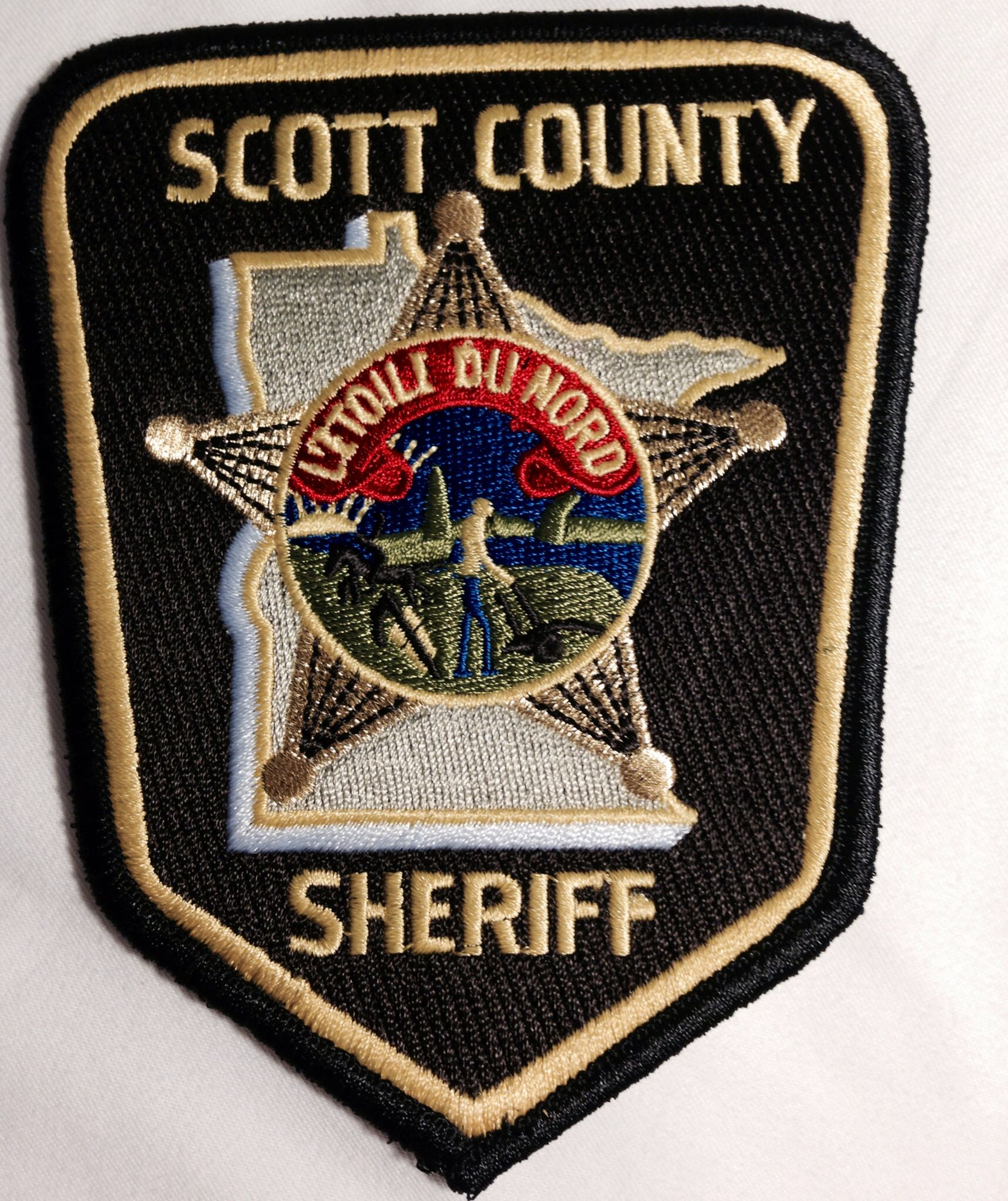 Scott County Sheriffs Office Police Patches Police Badge Police