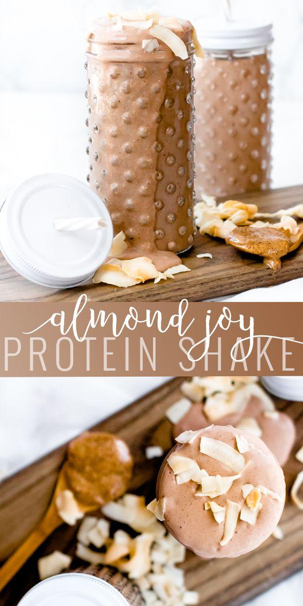 Chocolate Coconut Protein Shake | Drinks | Oh So Delicioso