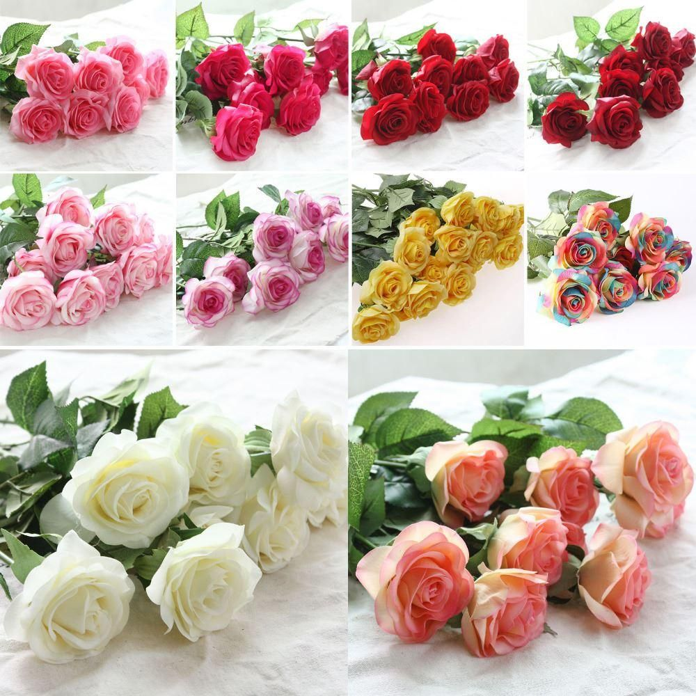 10pcslot decor rose artificial flowers silk flowers floral latex looking for cheap 10pcslot decor rose artificial flowers silk flowers floral latex real touch izmirmasajfo