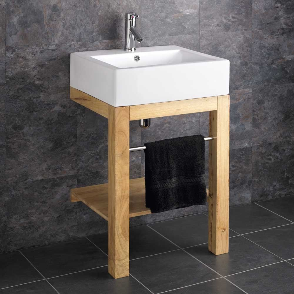 Verona Ceramic Belfast Floor Mounted Freestanding Bathroom Basin