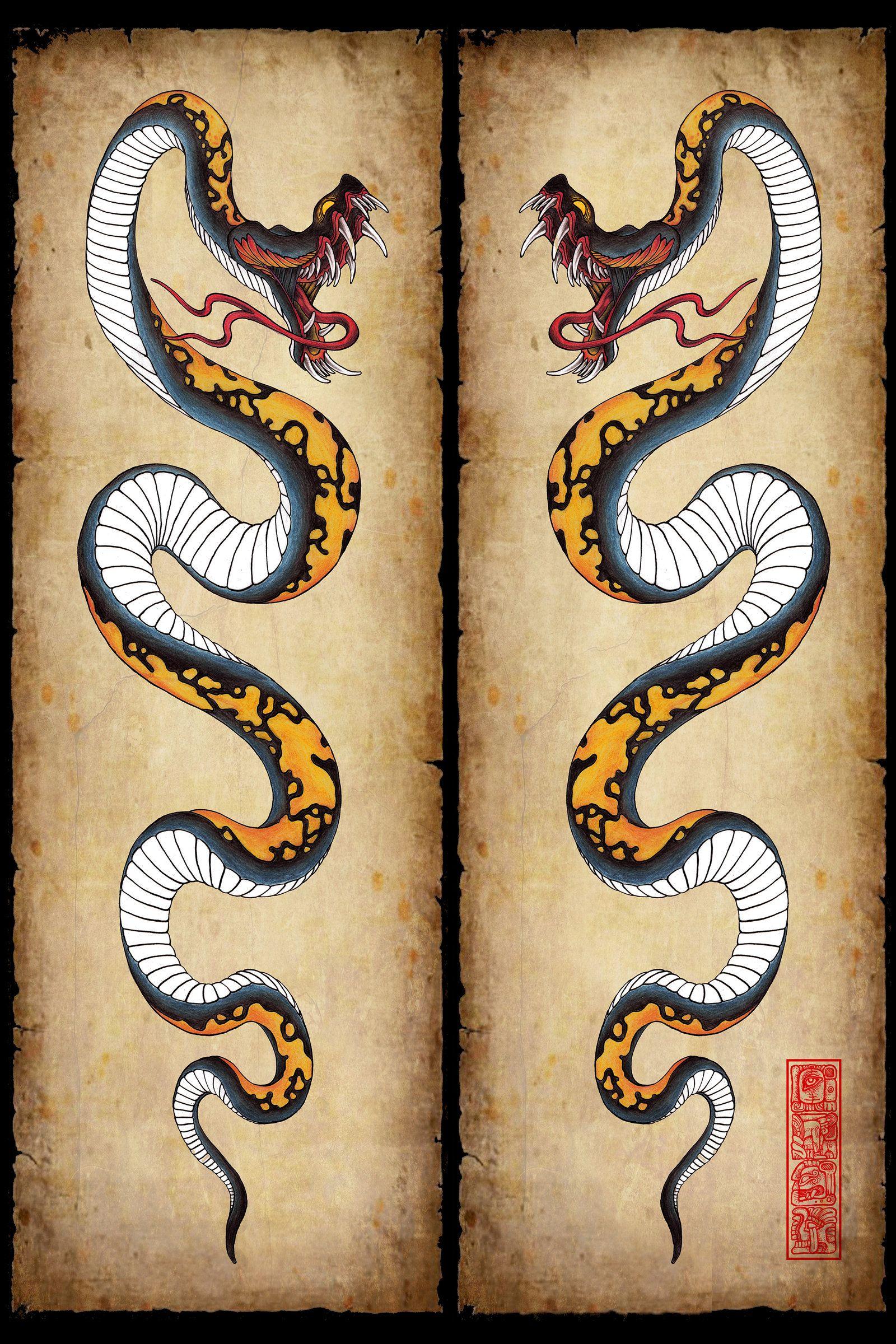tattoos Snake
