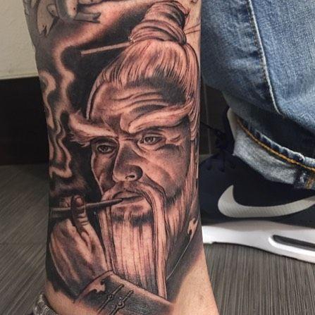 Instagram Photo By Mister Cartoon Nov 14 2014 At 5 38pm Utc Tattoo Artists Cartoon Portrait Tattoo