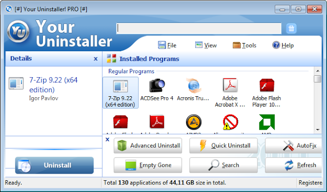 Pin On النسخة المدفوعة من برنامج حذف الملفات من جذورها Your Uninstaller مجانا Http Www Hunterstartv Tech 2017 04 Your Uninstaller Html