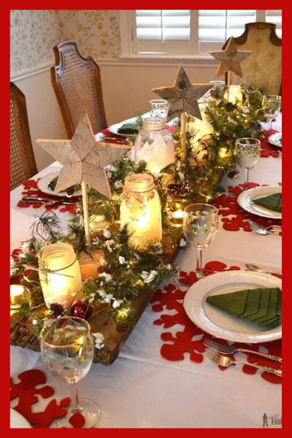 Copy These Awesome Christmas Table Ideas Christmas Table Centerpieces