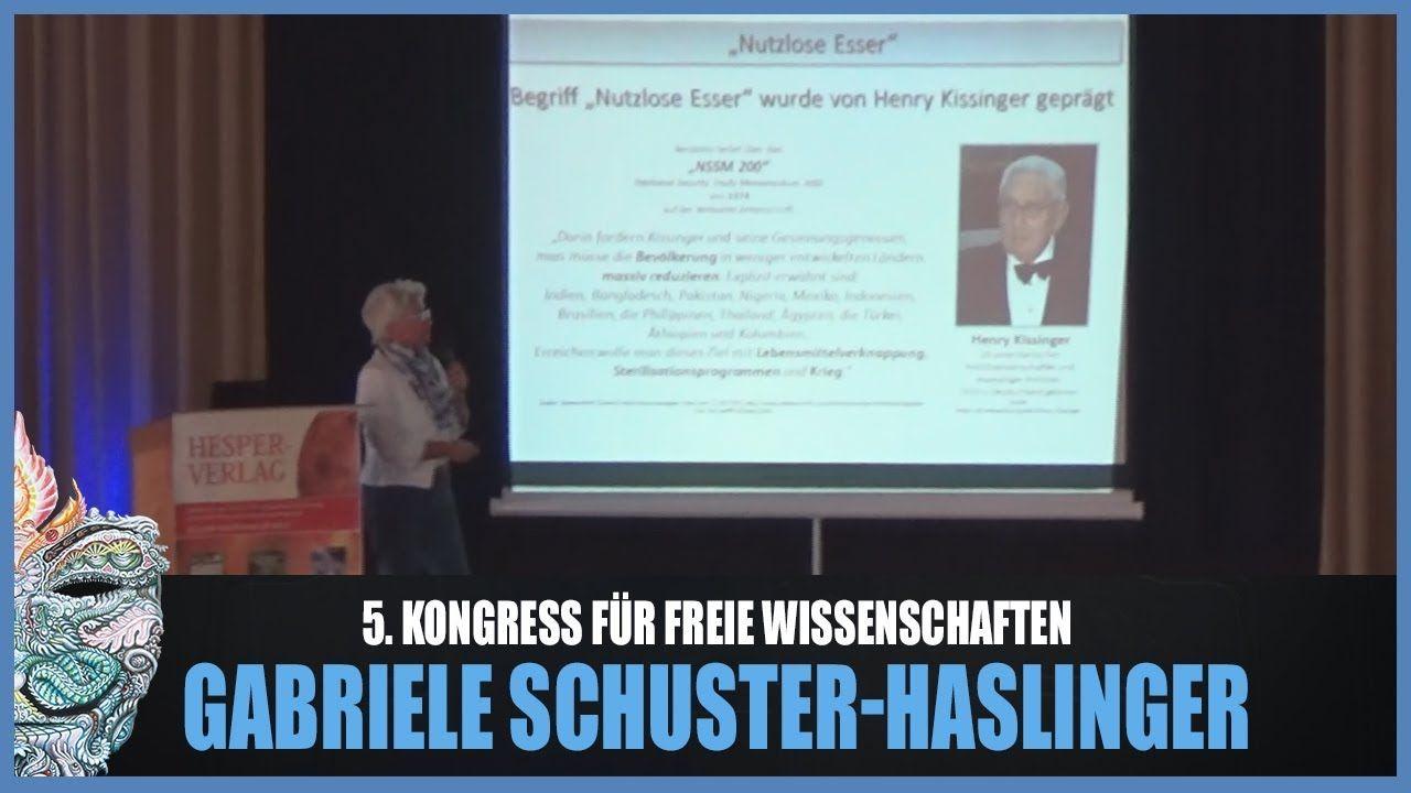 Gabriele Schuster-Haslinger - Bevölkerungsreduktion / -lenkung! 5. Kongr...