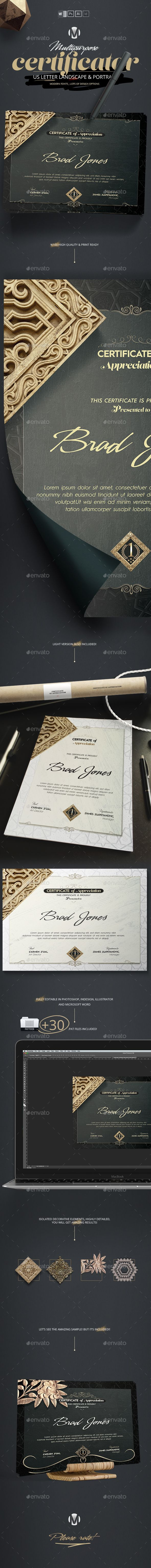 Certificator certificate certificate design and template quickly create a professional looking certificate of appreciation certificate for any company using this yelopaper Gallery