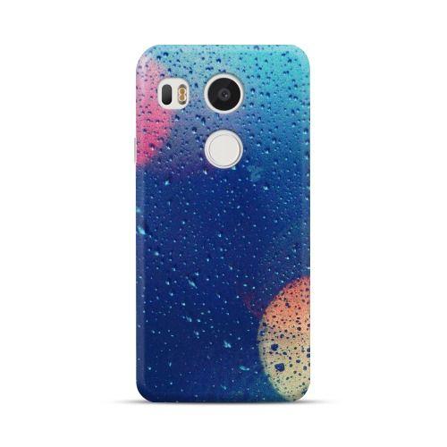 LG Nexus 5X Wet Glass Lights Case