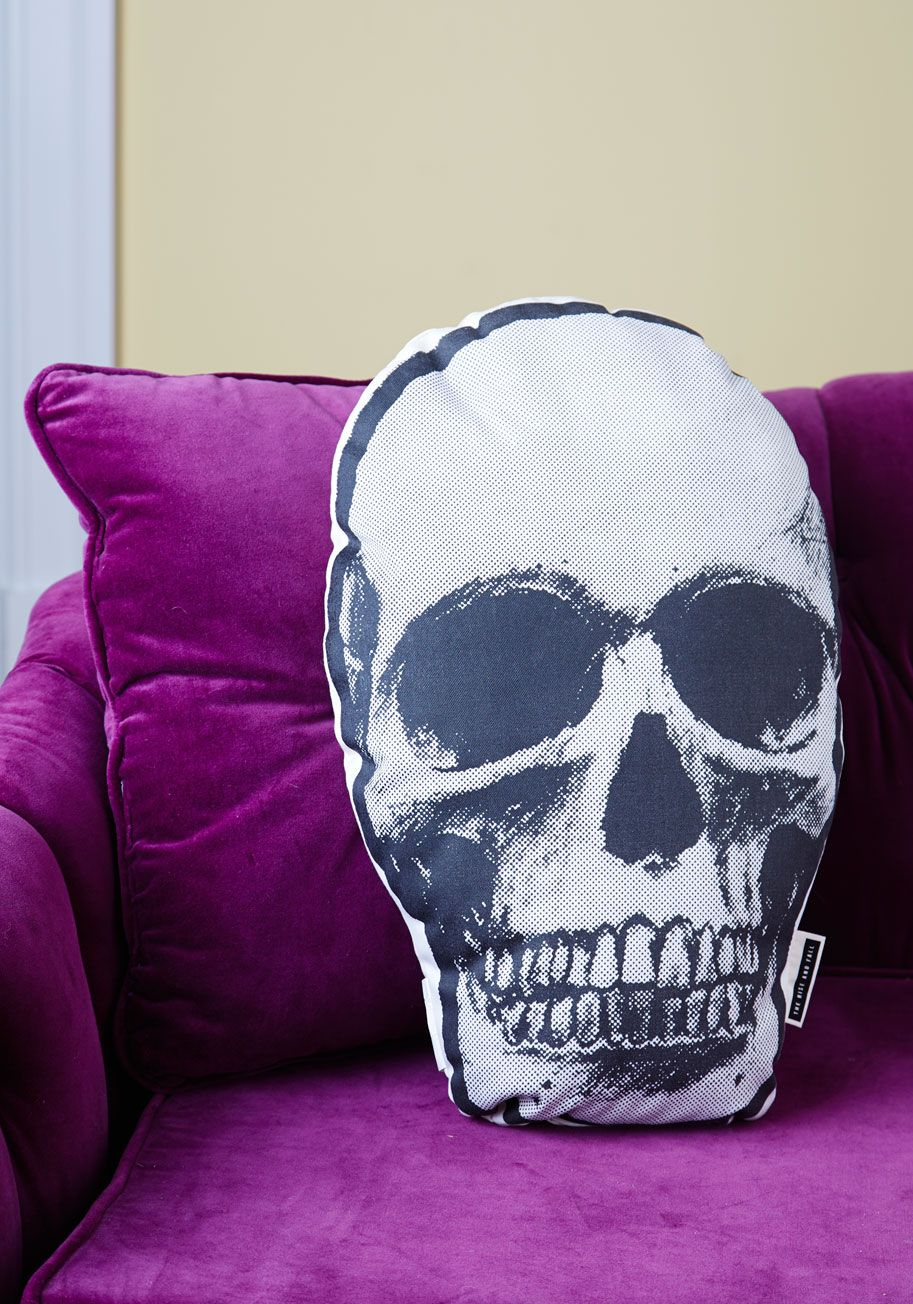Skull Shaped Pillow