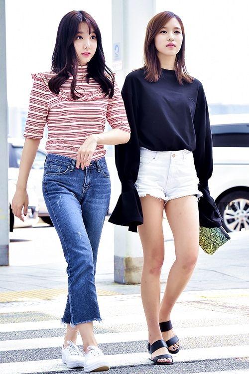 TWICE Nayeon Airport Fashion 트와이스 나연 공항패션/사복
