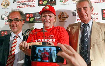 buongiornolink - Il miglior pizzaiolo è donna, Teresa sul podio mondiale