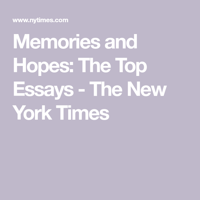 Buy college application essay new york times