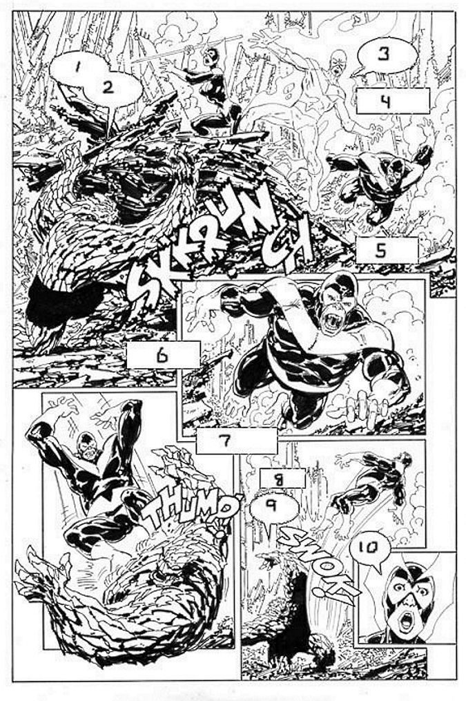 Triple Helix #1, page 4 by John Byrne & Leonard      John