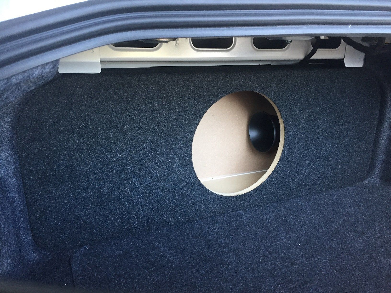 2015 ford mustang ported vented sub enclosure subwoofer box 1 12