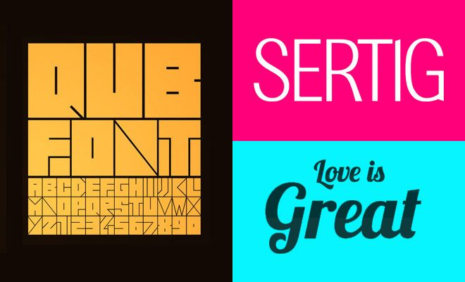 21 Fresh Free Fonts for Graphic and Web Designers - Download now ...