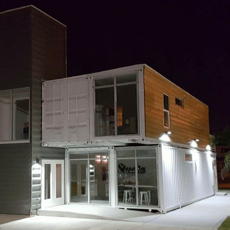 Pinellas Park Container House The Casa Club Container House Shipping Container Tiny House Hotel