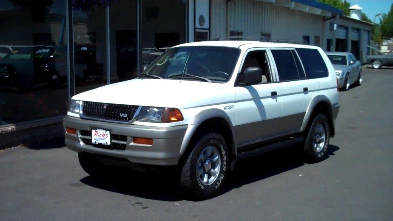 1997 MITSUBISHI MONTERO SPORT 4X4 1995 Mitsubishi, 4x4