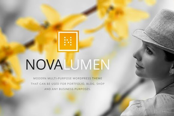 zhannadesign: Novalumen - Modern WordPress Theme