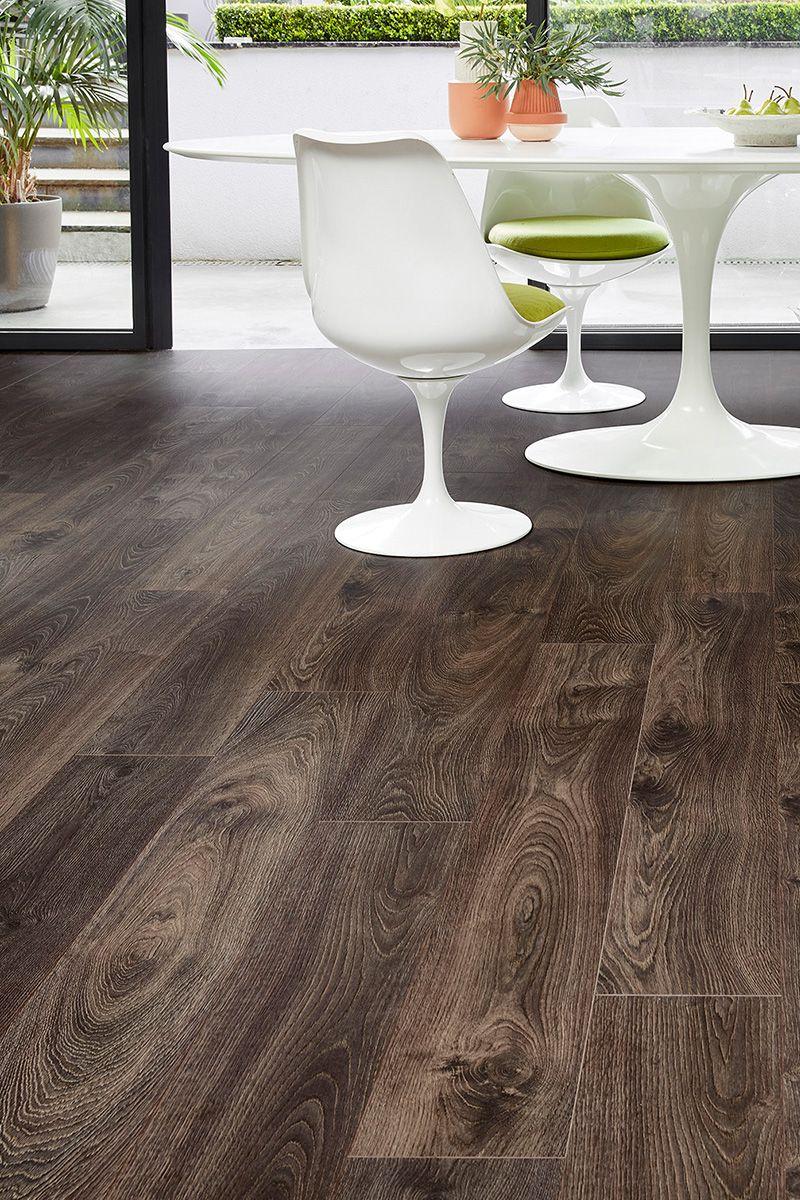 Dark Brown Series Woods 8mm Laminate Flooring Stout Oak