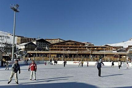 Alpe d'Huez Ice Skating