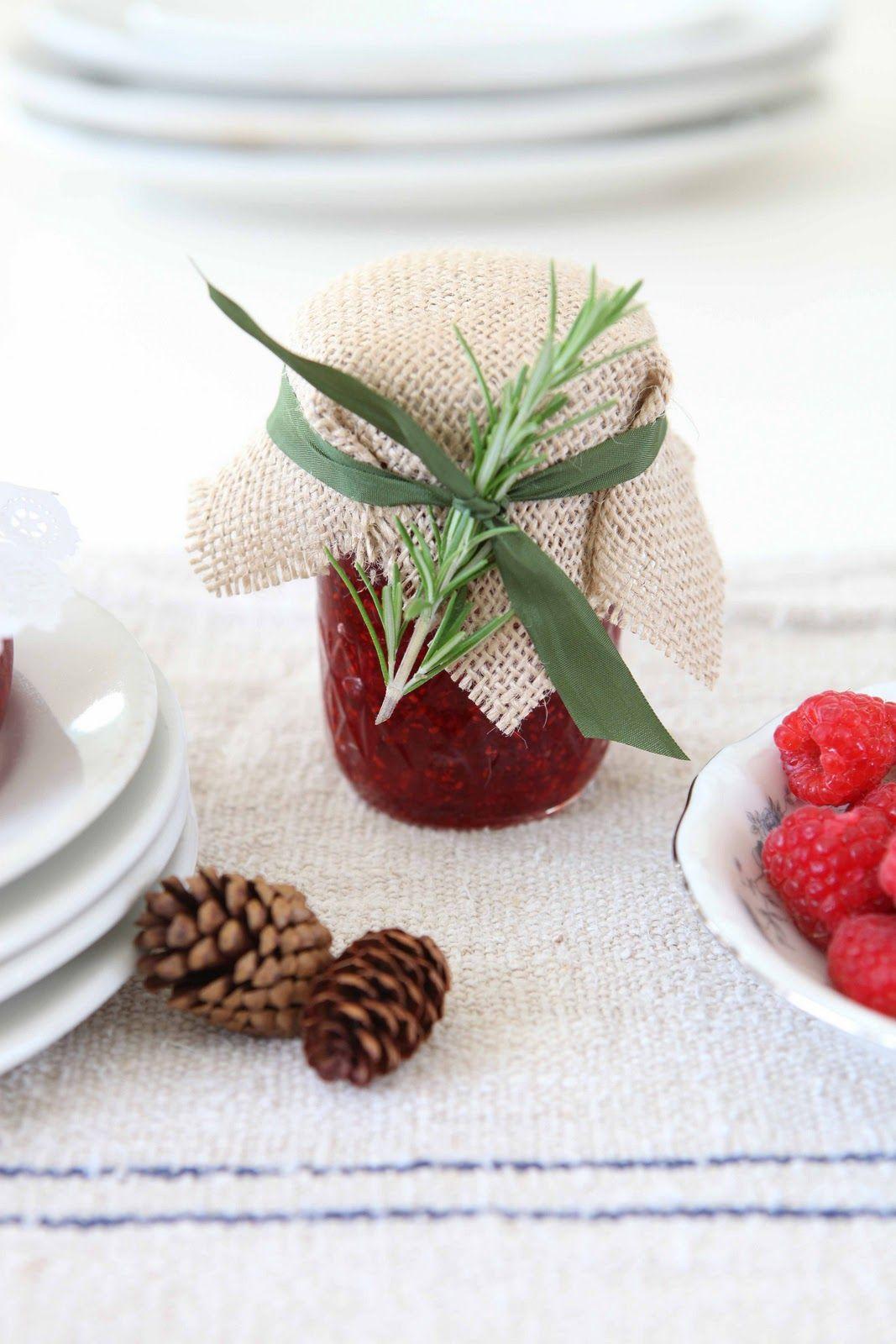 Make raspberry jam as a gift. | Homemade jams and jellies ...