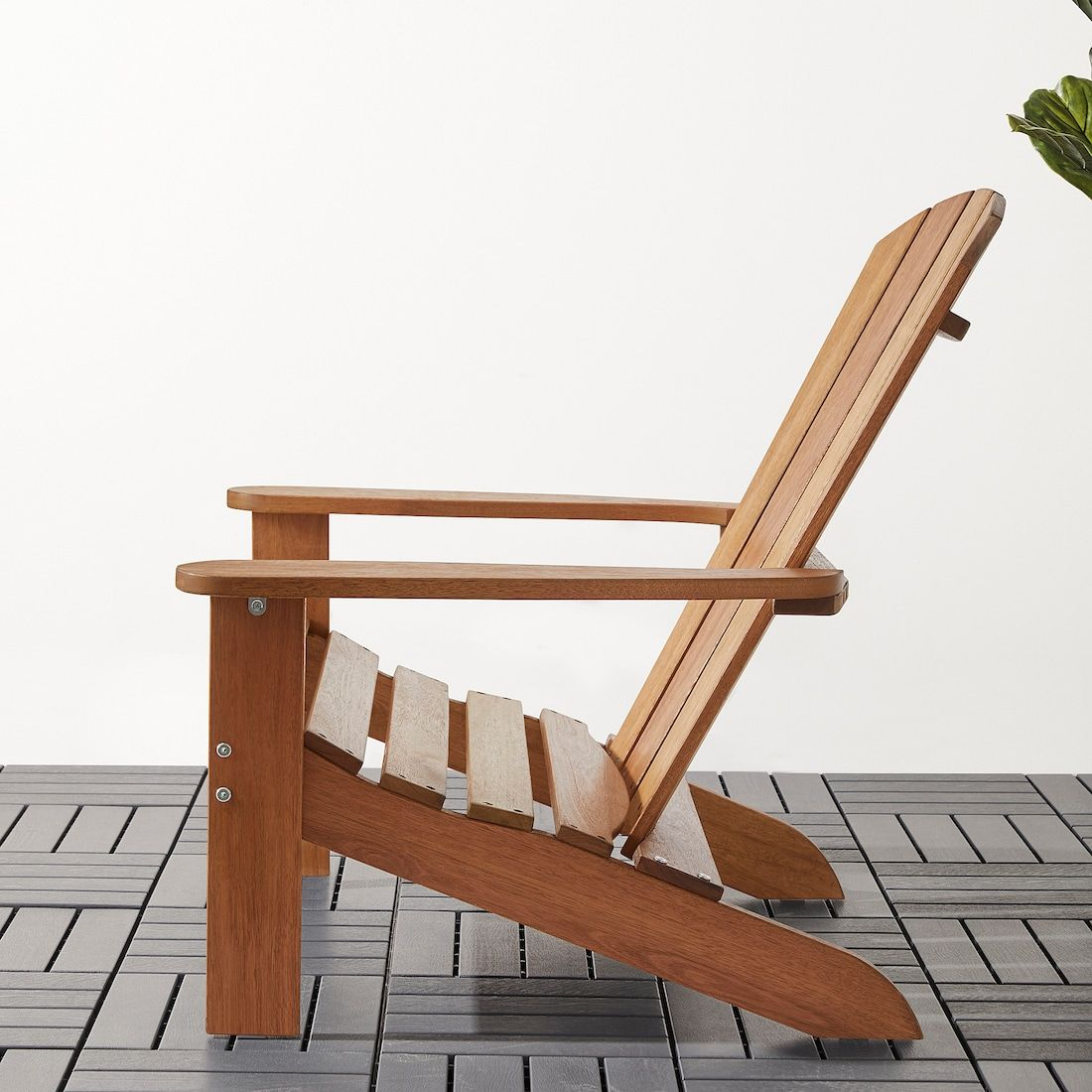 Kloven Deck Chair Outdoor Light Brown Ikea In 2020 Outdoor Wood Furniture Deck Chairs Wooden Outdoor Furniture