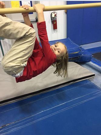 Monkeying around is what we do best. #gymnastics #monkey #gymnast #kids #funforkids #bars #younggymnast #kidgymnast