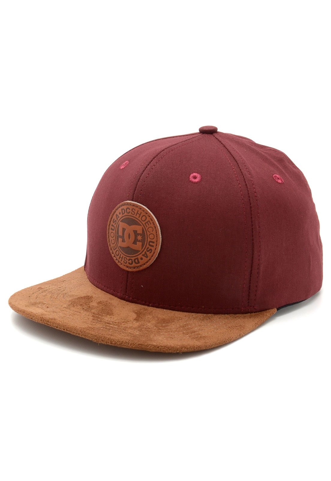 Boné DC Shoes Snappy Top Vinho Caramelo  46fec44ed56
