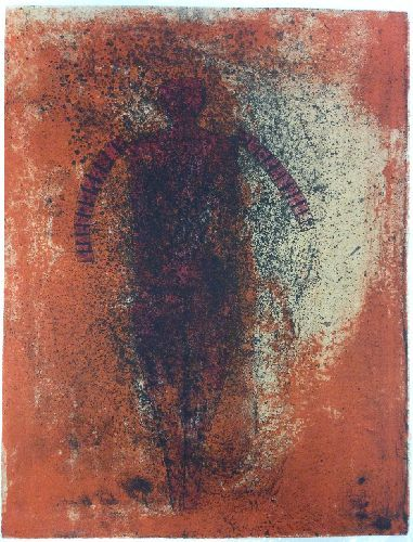 Hombre Obscuro - Rufino Tamayo http://www.printed-editions.com/artwork/rufino-tamayo----hombre-obscuro-31349