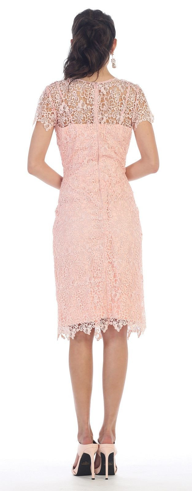 Short Cocktail Mother of the Bride Dress 2018