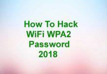 hack wifi password kali linux 2018